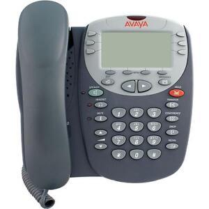 Lot of (10) Fully Refurbished Avaya 4610SW IP Phone (Gray)