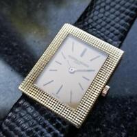 VACHERON CONSTANTIN Midsize Solid 18K Gold  Hand-Wind Dress Watch, c.1960s MS218