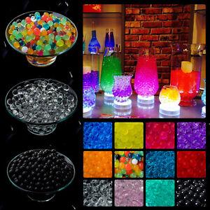55000 Water Aqua Soil Crystal Bio Gel Balls Beads Decoration Vase Filler