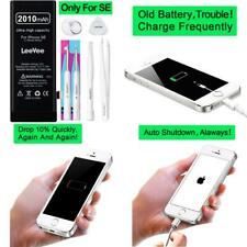 2010Mah High Capacity  Battery Compatible With Iphone Se, Leevee 0 Cycle Li-Poly