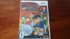 Detective Conan Case Closed One Truth Prevails (Nintendo Wii) Rare Complete