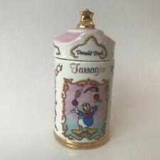 Lenox Porcelain 1995 Walt Disney Collection Tarragon Spice Jar Donald Duck