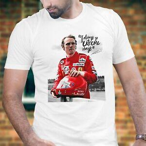 Niki Lauda - Maglietta comm. mod2 - Ferrari McLaren GP Formula one Grand Prix