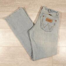 """Mens WRANGLER Dayton Bootcut 31""""W 34""""L Vintage Stonewashed Blue Jeans #E3001"""