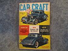 Car Craft Magazine September 1958 Vol. 6 No. 5 Big Engines Ok For Street? Z818