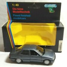 SCHABAK DIECAST 1:43 SCALE FORD ORION - GREY - 1092 - BOXED