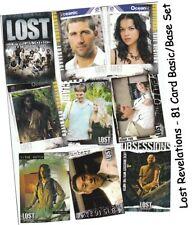 Lost Revelations - 81 Card Basic/Base Set - Inkworks 2006