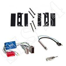 Audi A4 A6 TT Radio AKTIVSYSTEM MiniISO Stecker + Radioblende + Antennenadapter