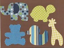 Baby Boy Bodysuit Party Iron On Fabric Applique Set
