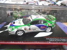 TOYOTA Celica Turbo 4WD Gt4 1996 Rallye Spain #6 Ponce 7up IXO Altaya SP 1:43