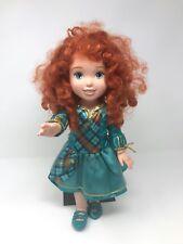 "Disney Store MERIDA 16"" Toddler Doll Brave movie princess"