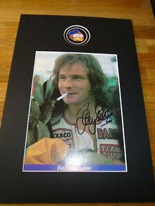 Barry Sheene Genuine Signed Authentic  Autograph - UACC / AFTAL.