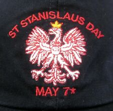 ST. STANISLAUS DAY White Eagle baseball hat Polish Catholic Church saint cap