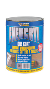 Everbuilds Evercryl Roof Repair 1kg - Clear
