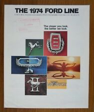 FORD ORIG 1974 USA inchiostri SALES BROCHURE-Thunderbird Mustang Torino Pinto ETC