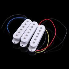 3 in 1 48/50/52mm White Single Coil Electric Guitar Pickups for Start Fender