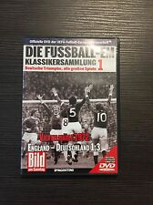 DVD Die Fußball-EM Viertelfinale 1972 Bild am Sonntag-Sammlung