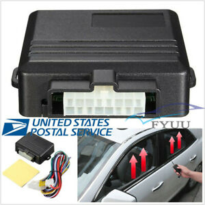 12V Car Automatic Window Roll Up Closing System Power Alarm Module Kit