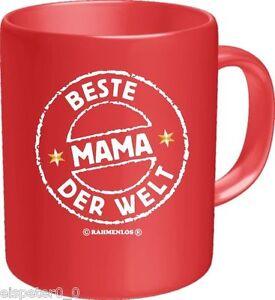 Tasse Café , à Café, de Beste Mama Du Monde, Rahmenlos Art. 2535