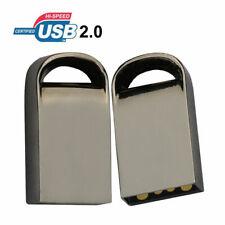 Super Mini Metal USB 32GB/16GB Flash Pen Drive Stick Storage Media U Disk