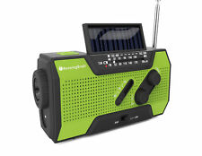 Runningsnail Solar Crank NOAA Weather Radio for Emergency With 2000mah Power BA