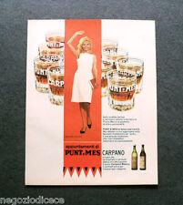 P100 - Advertising Pubblicità -1964- CARPANO PUNT E MES , MARGARET ROSE KEIL