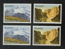 CKStamps: Iceland Stamps Collection Scott#622 623 Mint NH OG