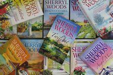 Lot of 10 Sherryl Woods Mass Market Paperback Books MIX