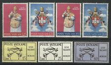 VATICAN CITY 1958 / 59 VACANT SEE / CORONATION SETS MINT
