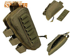 1000D Tactical Rifle Shotgun Buttstock Stock Shell Ammo Holder Pouch Right Hand