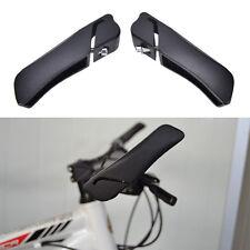 2X noir alliage d'aluminium vélo vélo montagne vélo guidon fin poignéesOP
