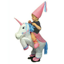 Kids Children Unicorn Inflatable Costume Funny Carnival Costumes For Kids Gift