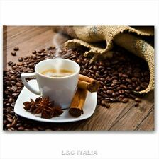Quadro bar caffè 6 - QUADRI 70x50 ARREDAMENTO CUCINA PASTICCERIA STAMPA TELA