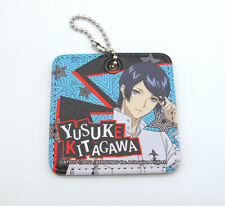 """Persona 5 Yusuke Kitagawa 3"""" leather keychain figure strap Japan"""
