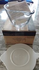 Pampered Chef Mint Condition Small Glass Batter Bowl w/lid, FREE SHIPPING! #2432