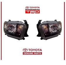 Genuine Toyota 2014-2017 Tundra TRD PRO Headlight Headlamps Lamps OEM OE
