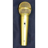 Gold microphone japan