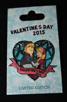 Disney Valentine's Day 2015 Frozen Anna & Kristoff Limited Edition Pin