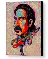 Framed Abstract Frank Zappa 9X11 Art Print Limited Edition w/signed COA