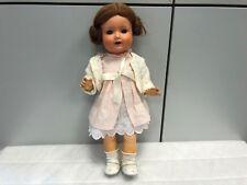 Alte Puppe 44 cm. Sehr Alt. Zustand ( Siehe Fotos )