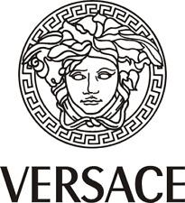 Versace black logo Sticker Clear Vinyl X 1 (A3)