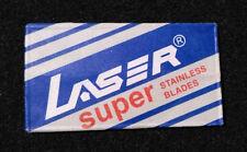 VINTAGE Rare Safety Razor ✱ LASER SUPER ✱ Double Edge Paper (No BLADE ~ EMPTY)
