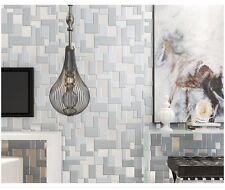 3D Mosaic Mark Wall Paper Roll