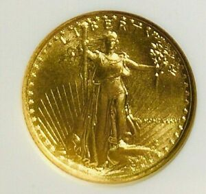 1986 $5 1/10 Oz American Gold Eagle-First Year of Issue MS69 NGC