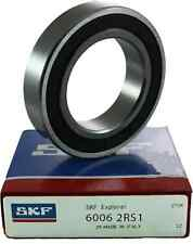 6006-2RS SKF Brand rubber seals bearing 6006-rs1 or 2rs USA ship