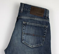 Tommy Hilfiger Hommes Madison Jeans Coupe Droite Taille W30 L34 AKZ676