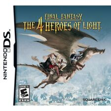 Nintendo DS Game Final Fantasy The 4 Heroes of Light US Boxed