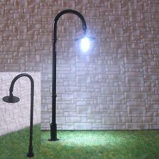 s317-10-pc LED farola arqueada Negro 6,5cm Lámparas de Arco