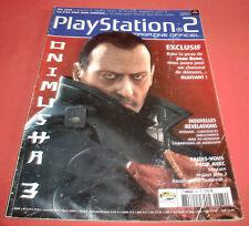 Playstation 2 Magazine [n°84 Mars 2004] PS2 Two Onimusha 3 *JRF