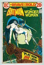 Brave and the Bold #105 January 1973 G Batman, Wonder Woman